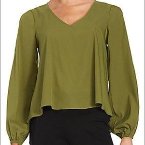 Lovers & Friends V Neck Blouse